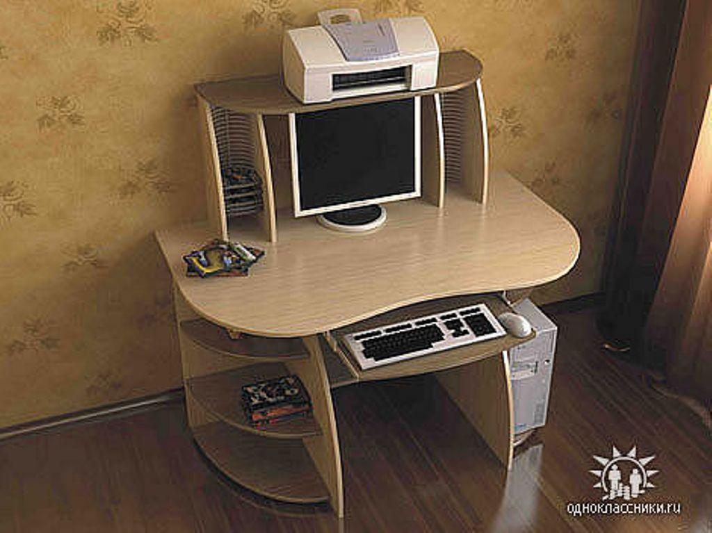 Компьютерные столы, изготовление мебели в оренбурге на заказ.